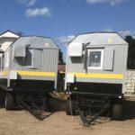 Фото вагон домов для НПК Меридиан