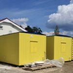 Жилые вагон-дома на 4 человека с туалетом и душевой для ПАО Высочайший